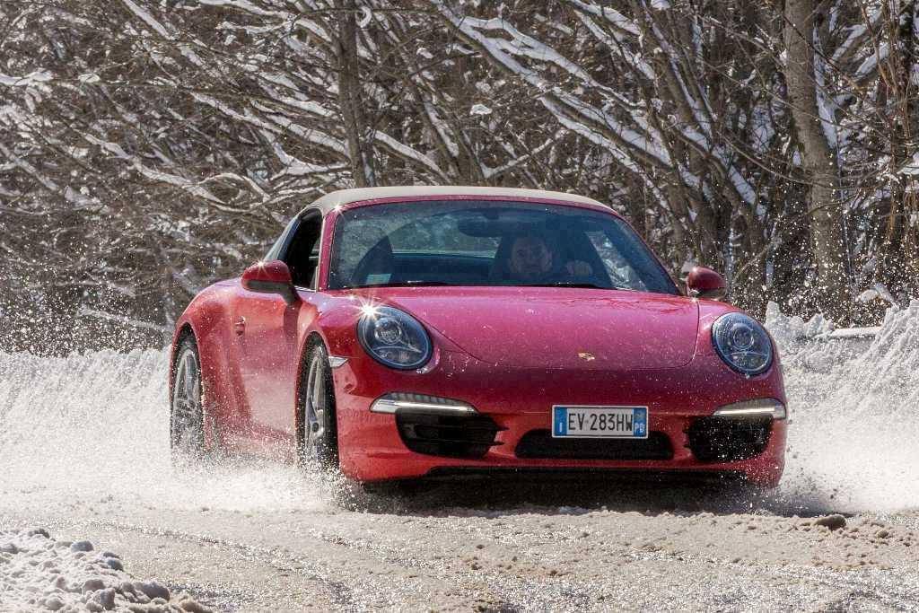 Porsche 911 Targa 4, massimo controllo e dinamismo