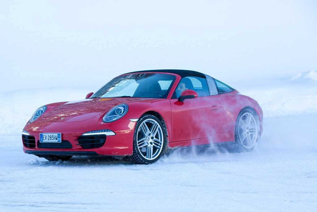 Porsche 911 Targa 4 prova Rieti/Terminillo