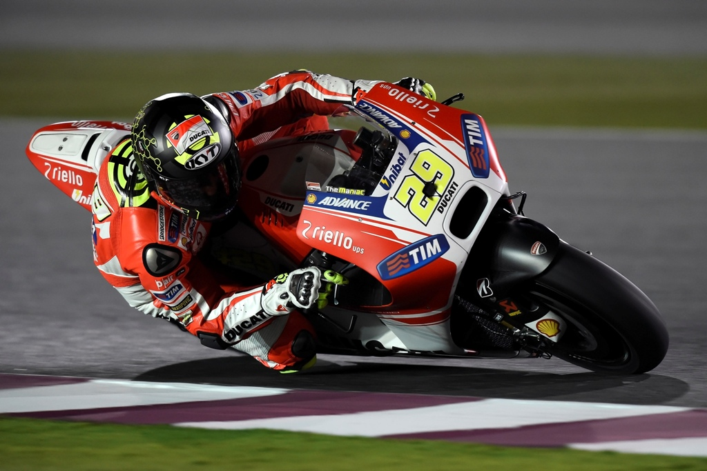 MotoGP test Qatar, Andrea Iannone GP 15