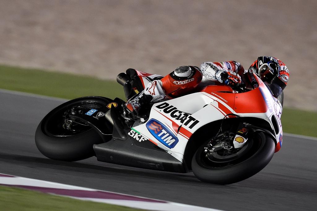 MotoGP 2015, test Qatar, Andrea Dovizioso