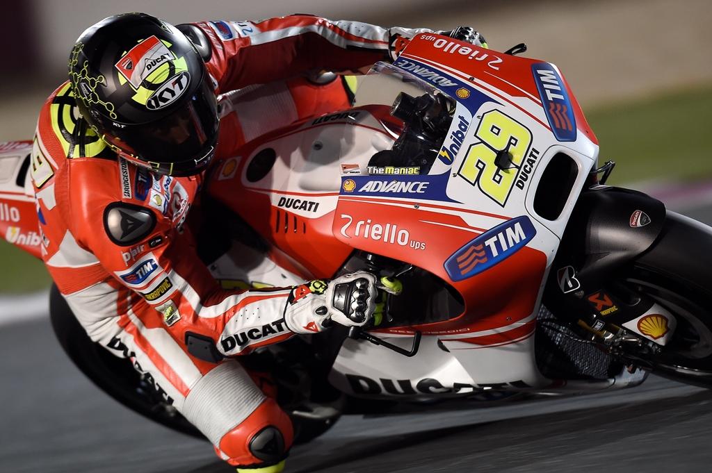 MotoGP Losail 2015 test, Andrea Iannone, secondo giorno