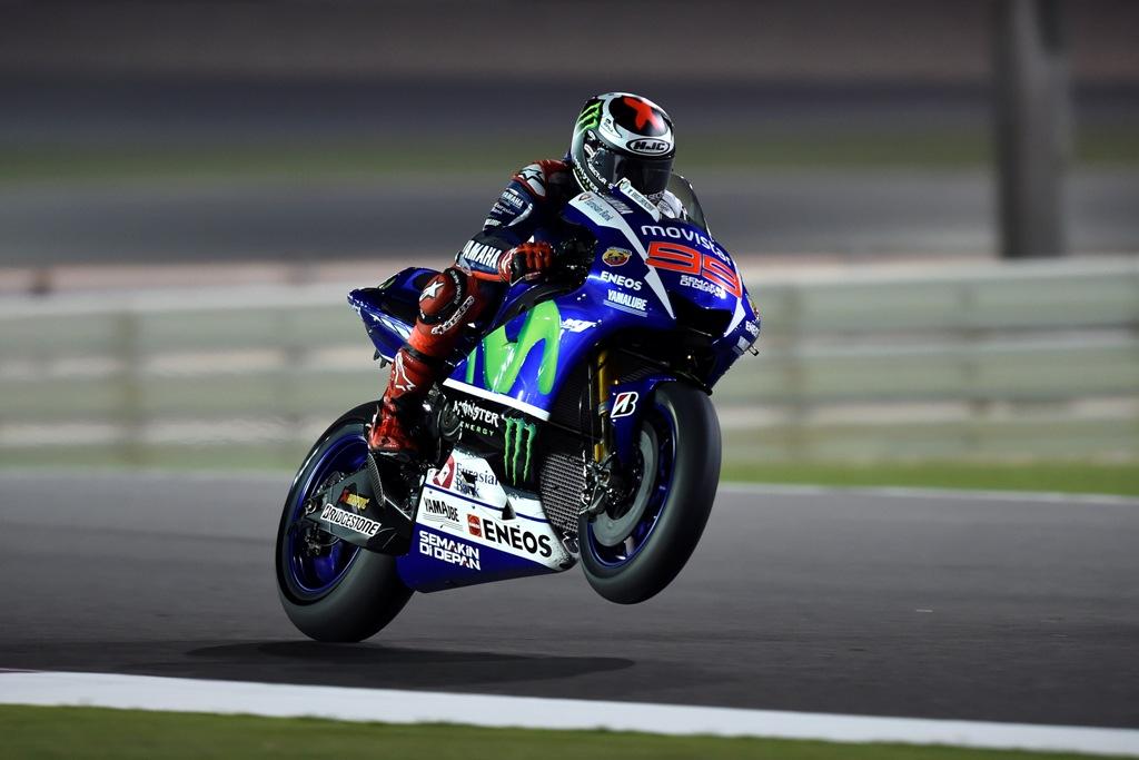 MotoGP 2015, Jorge Lorenzo 6° con problemi di grip sulla sua M1