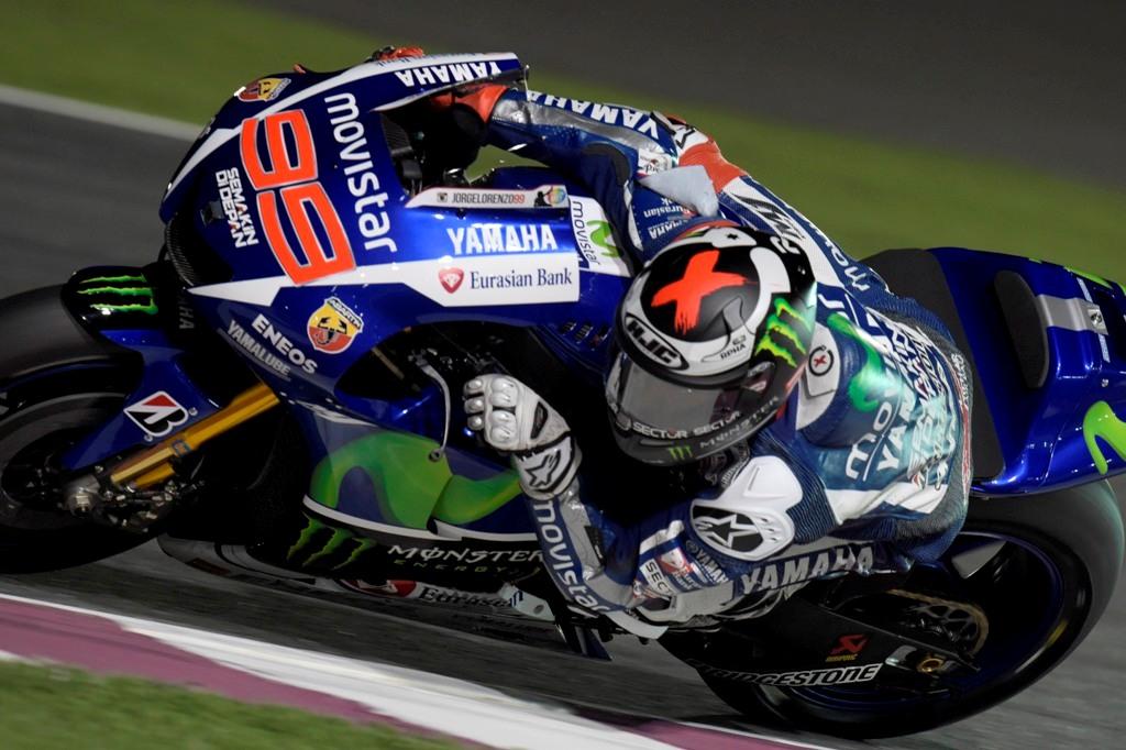 MotoGP Losail, 2015, Jorge Lorenzo, quarto in Qatar