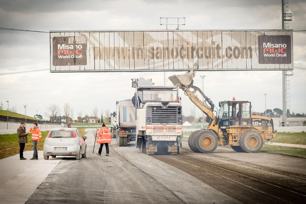 Misano, nuovo volto, nuovo asfalto ECO grazie al Dromo Circuit di Jarno Zaffelli