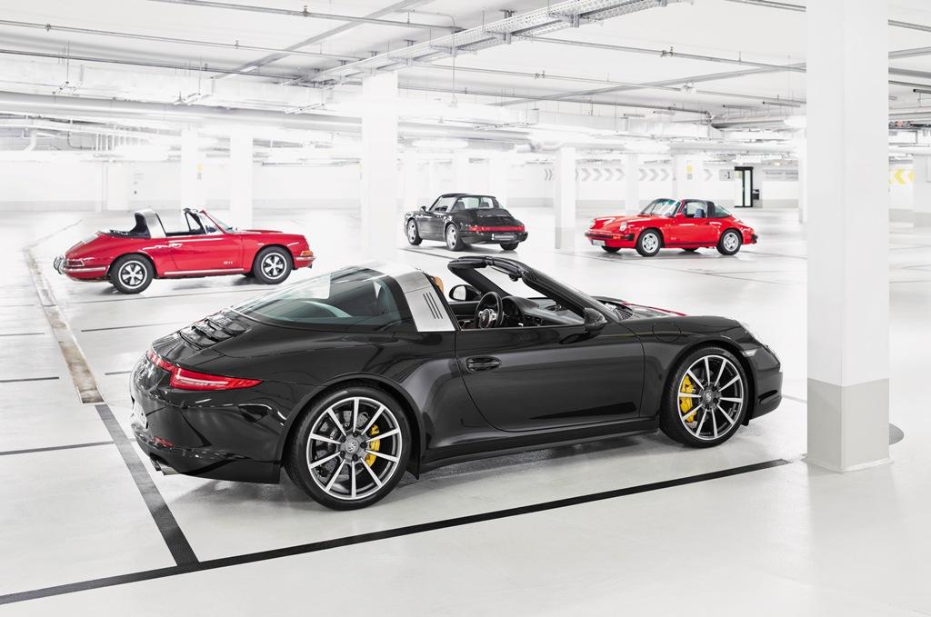 Porsche 911 Targa 4, design più aggressivo se paragonato alle altre Targa
