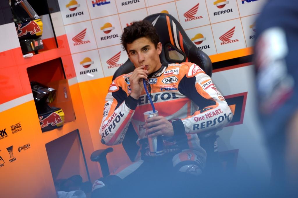 MotoGP 2015, Losail test giorno due, Marc Marquez