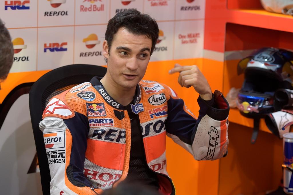 MotoGP 2015, test Qatar Losail, giorno due Dani Pedrosa