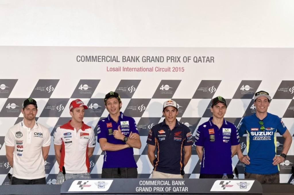MotoGP 2015, oggi presentazione dell'evento in Qatar (Foto motogp.com)
