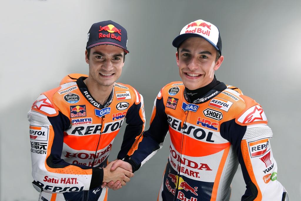 MotoGP 2015, la coppia Honda Marquez e Pedrosa