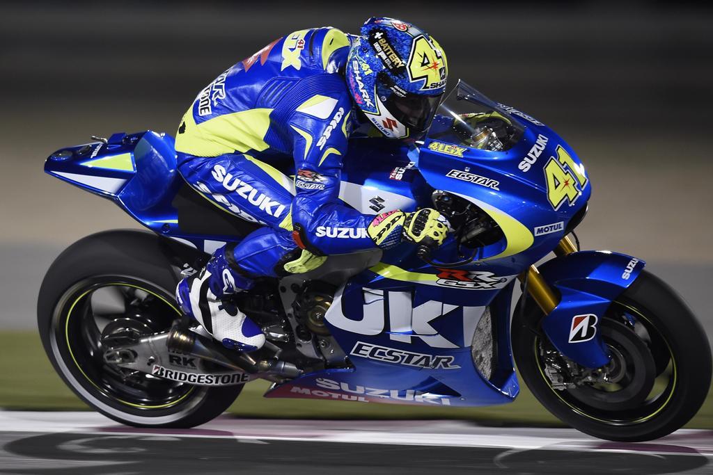 MotoGP 2015, Aleix Espargaro, 4° nel primo giorno di test in Qatar