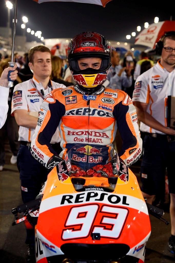 MotoGP 2015, Marc Marquez grande rimonta in Qatar