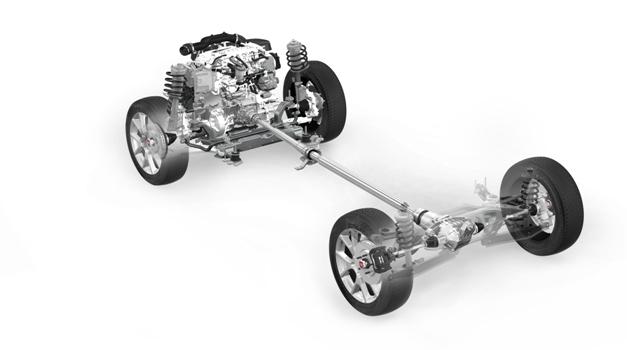 Lo schema 4x4 AWD della nuova Freemont Cross a giunto elettronico