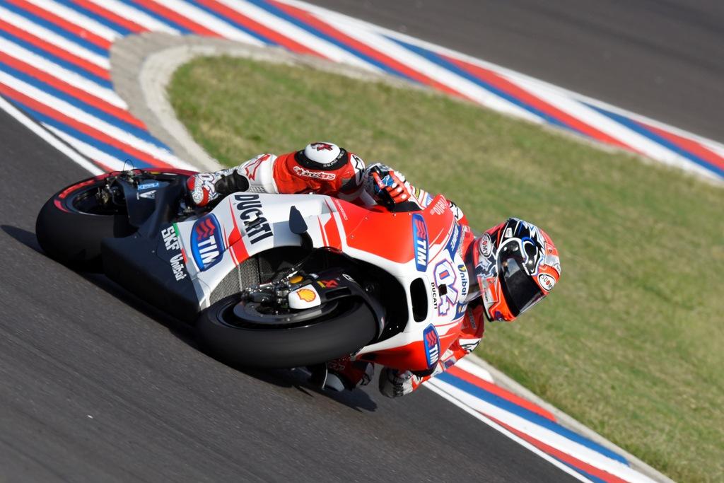 MotoGP 2015, Andrea Dovizioso in gara nel GP Argentina