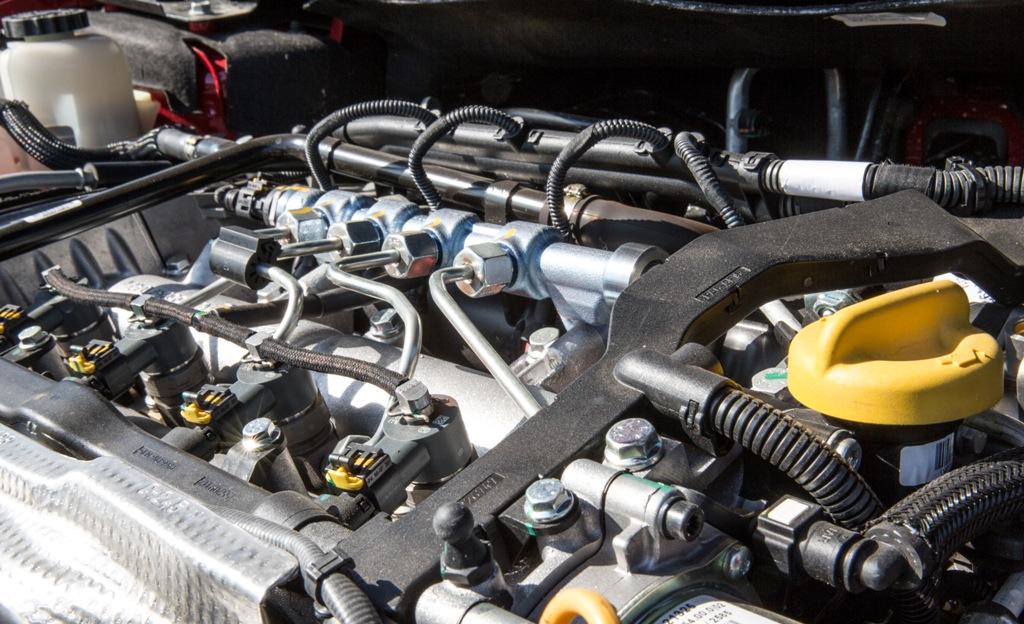Il quattro cilindri del Freemont Cross da 170 CV Multijet2