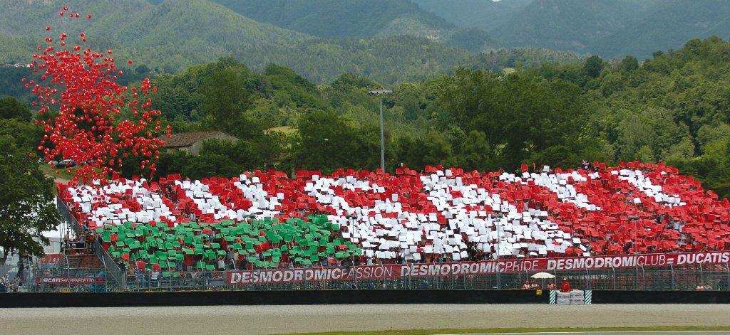 Ducati Grandstand, tutto è pronto per la MotoGP al Mugello