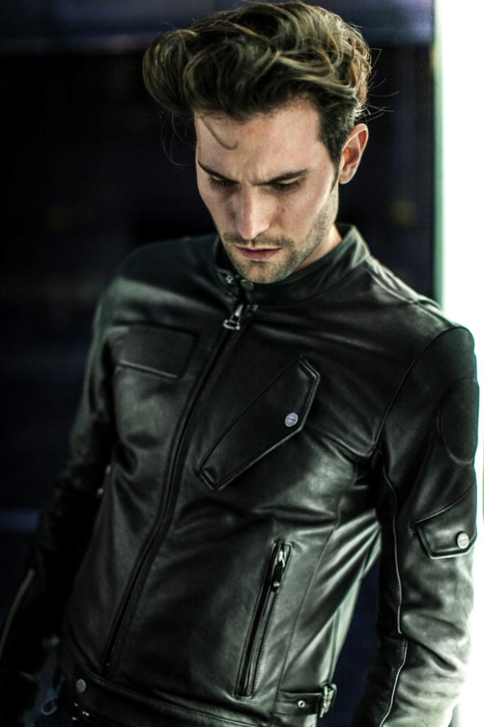 Fandango Spidi 2015, giacca pelle pieno fiore