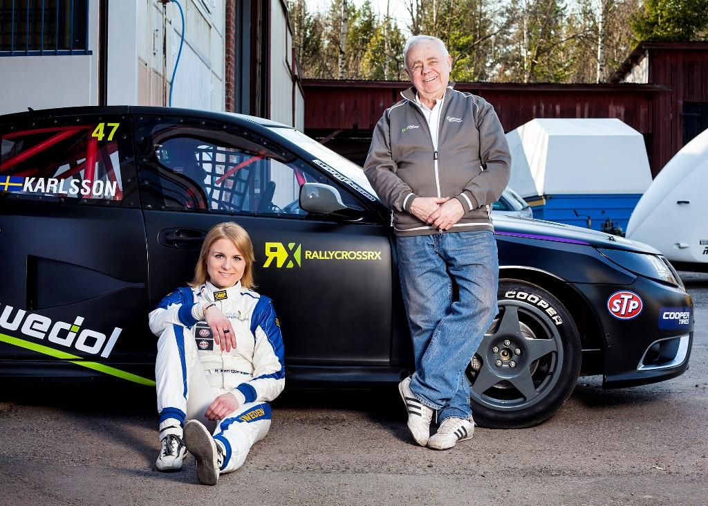 RX Europeo 2015, la Karlsson ha lavorato molto per gli sponsor ed alla fine ce l'ha fatta...