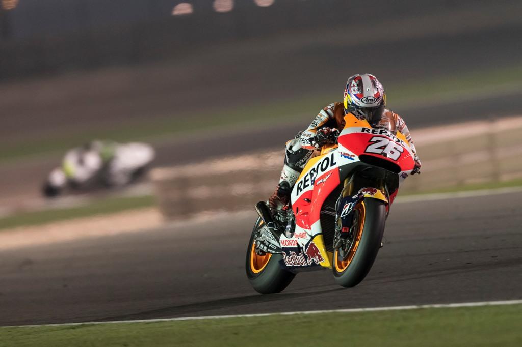 MotoGP 2015 Qatar. Honda, Pedrosa, sesto al primo GP della stagione