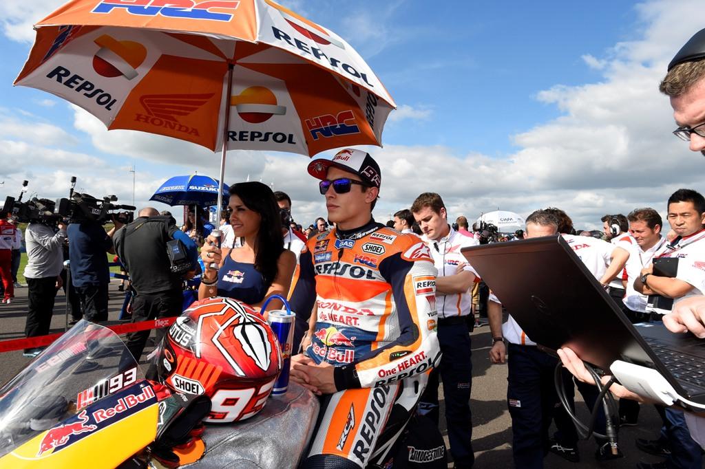 MotoGP 2015, GP Argentina, Marc Marquez prima del via