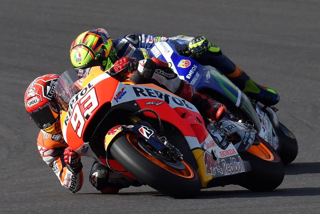 MotoGP 2015, Marc Marquez e Valentino Rossi, GP Argentina
