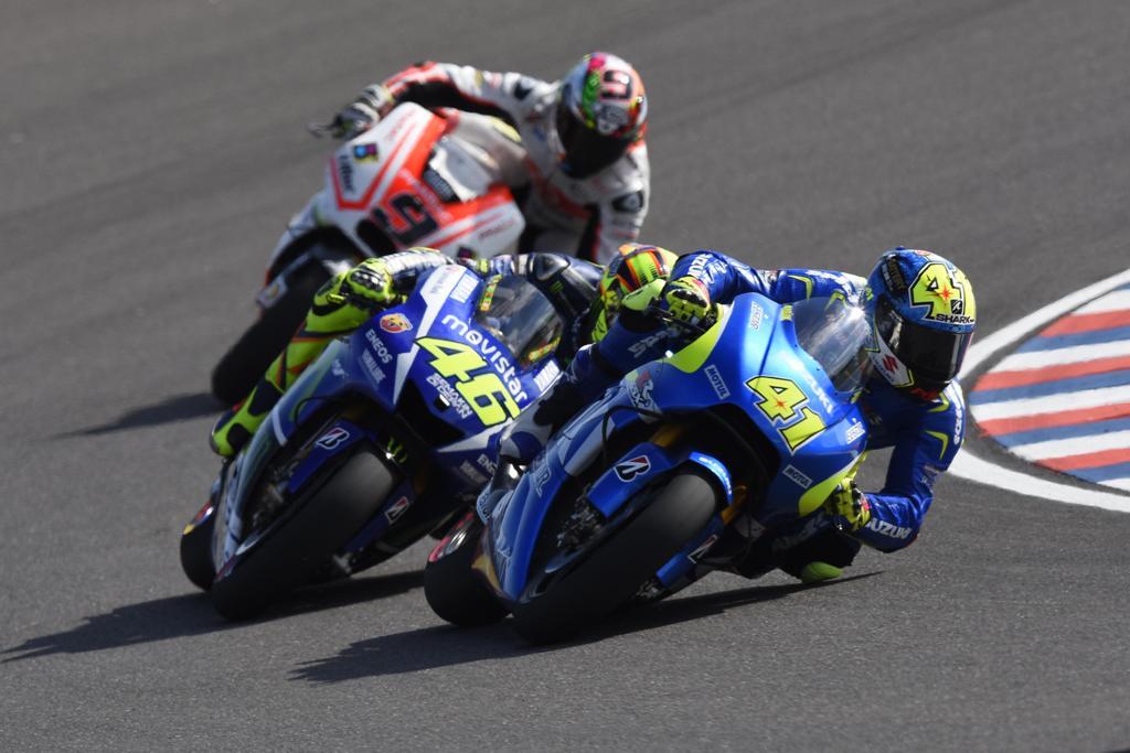 MotoGP 2015, Aleix Espargaro/Suzuki settimo in Argentina