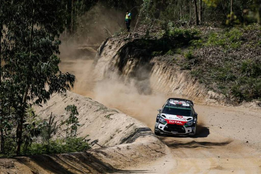 WRC Portogallo 2015, Ostberg in azione