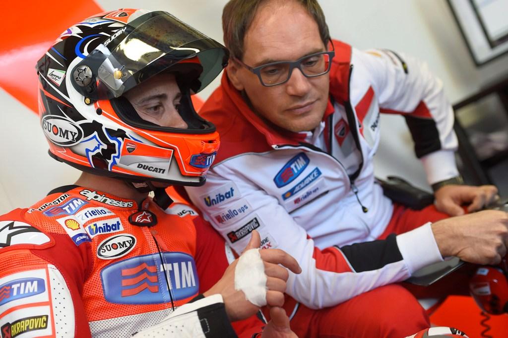MotoGP 2015, Le Mans, Andrea Dovizioso ottimo terzo posto per lui