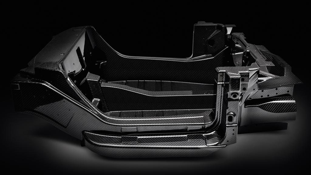 Alfa Romeo 4C, la monoscocca in carbonio nel dettaglio
