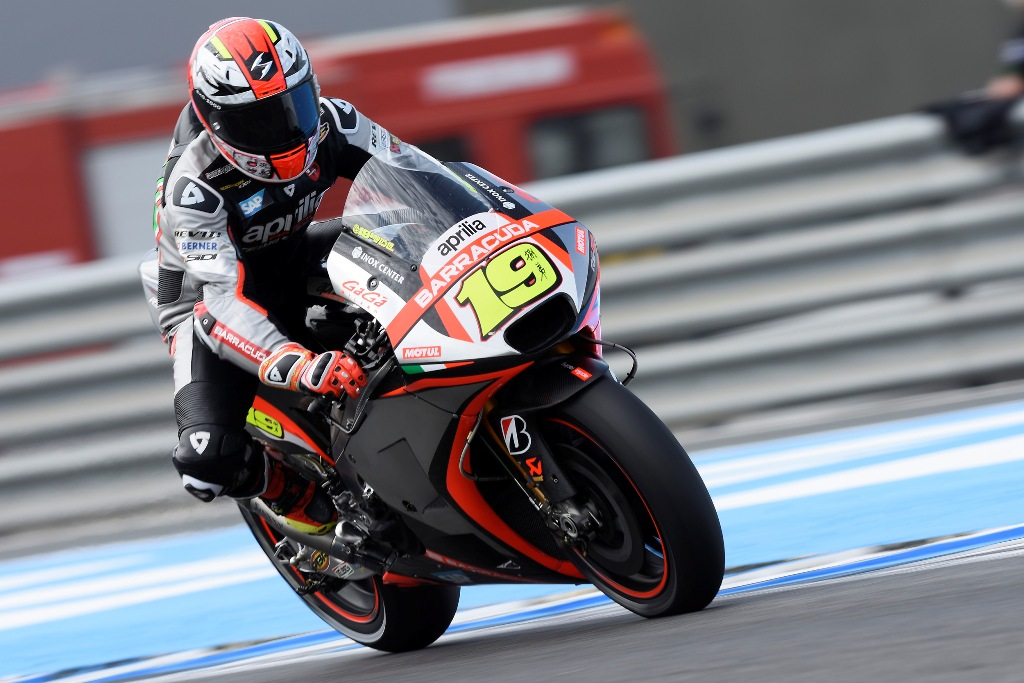 MotoGP 2015, Alvaro Bautista Aprilia Racing