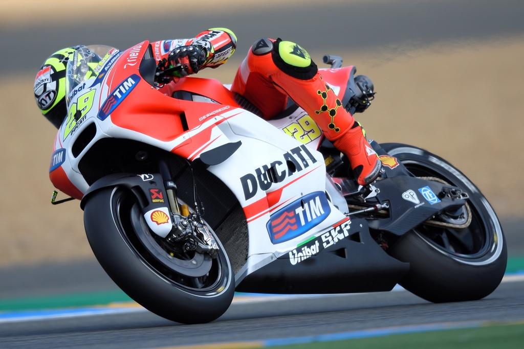 MotoGP 2015, Andrea Iannone correrà al Mugello non in perfette condizoni