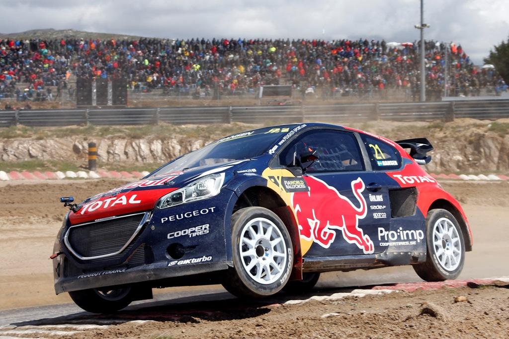 WRX 2015, la 208 WRC da 550 Cv, ora terza nel Mondiale RX