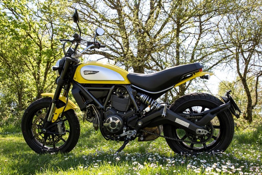 Ducati Scrambler Icon, essenziale e minimalista
