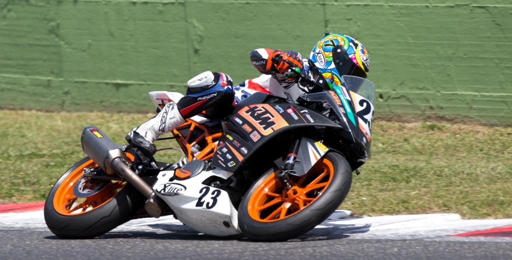CIV 2015, Paolo Arioni KTM RC390 Trofeo