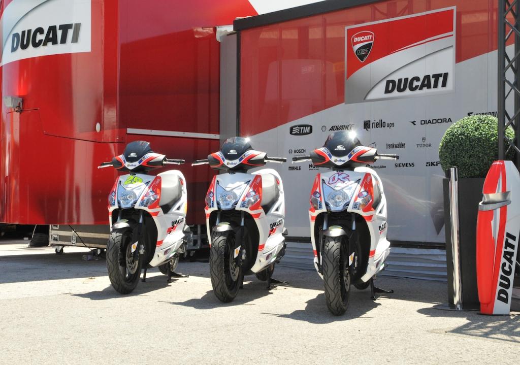 Kymco MotoGP Scooter 2015
