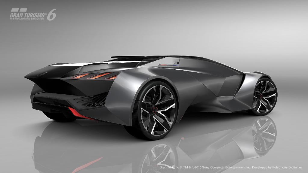 Design mozzafiato per la GT Peugeot destinata al videogioco PS