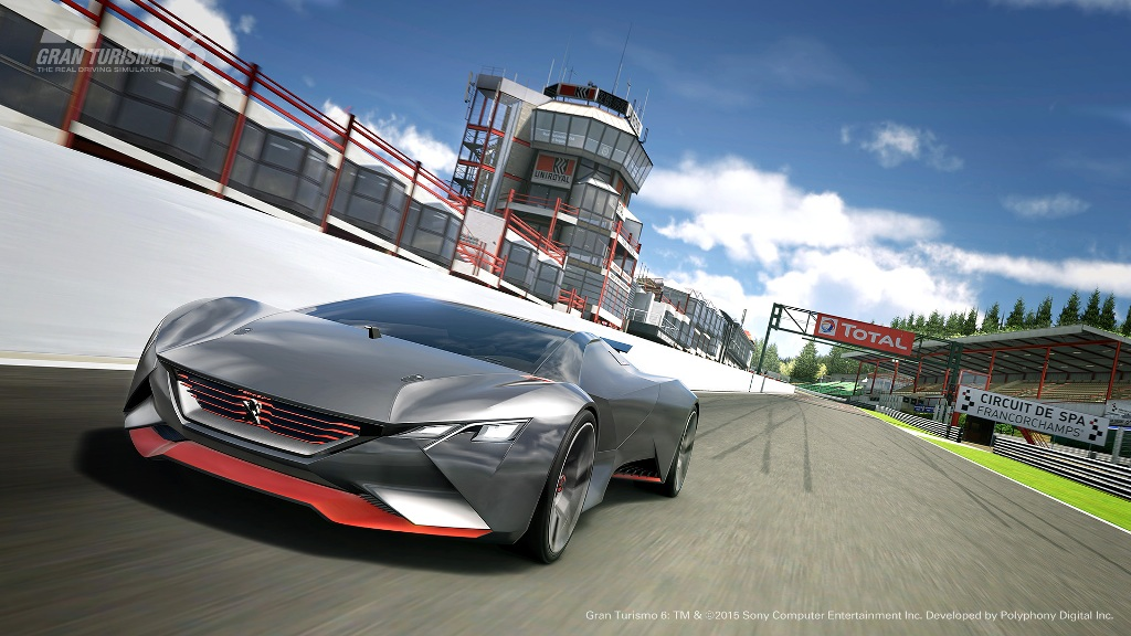 PEUGEOT, Vision Gran Turismo Racing, la Supercar da 875 Cv