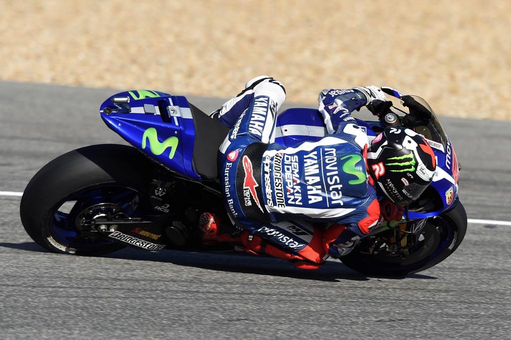 MotoGP 2015 Jerez, Jorge Lorenzo nei test dopogara