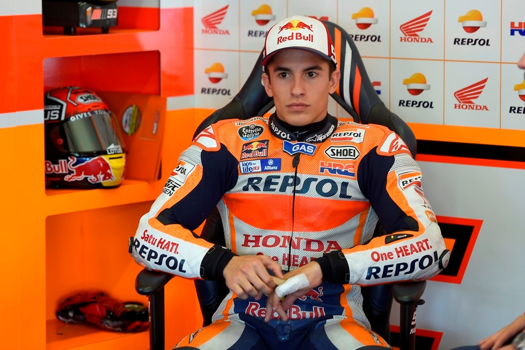 MotoGP, test HRC, Marc Marquez