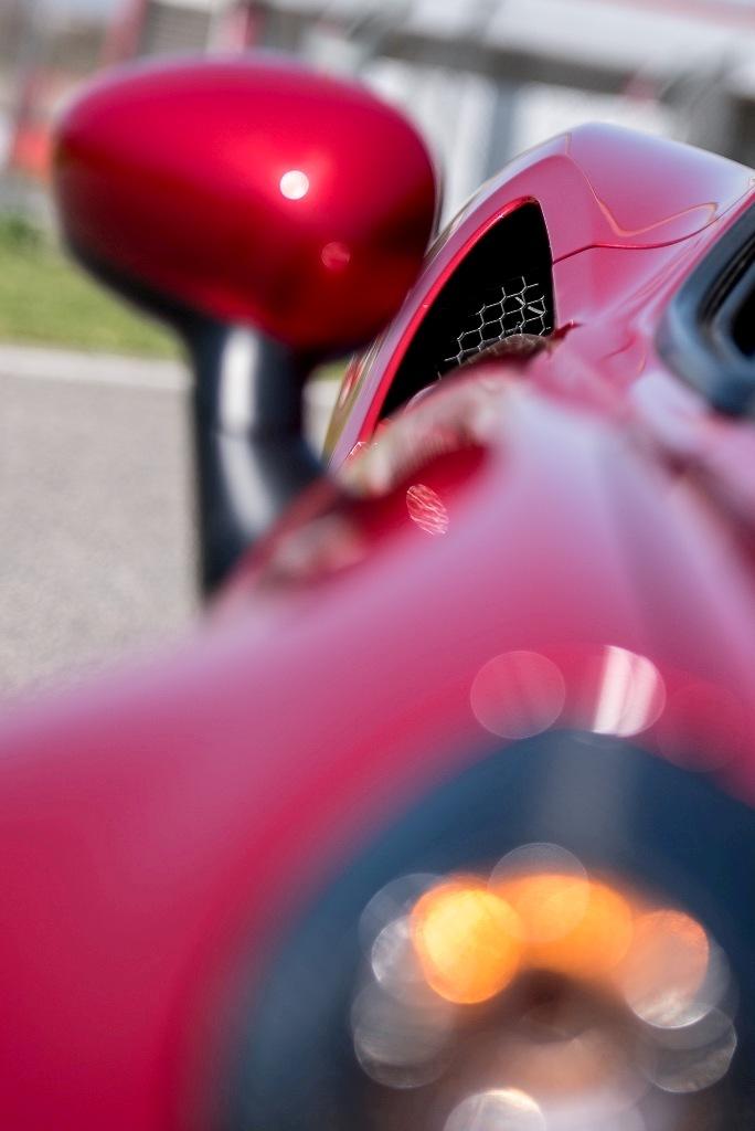 Alfa Romeo 4C, dettaglio delle prese aria laterali