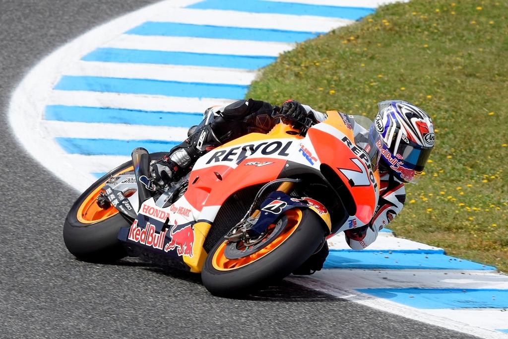 MotoGP test Jerez Hiroshi Aoyama ha provato anche se infortunato