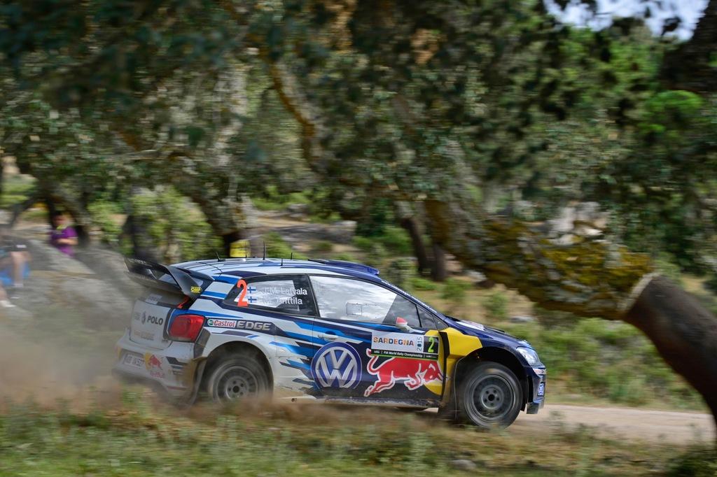 WRC 2015, Sardegna, il Team VW si conferma leader nella classifica costruttori