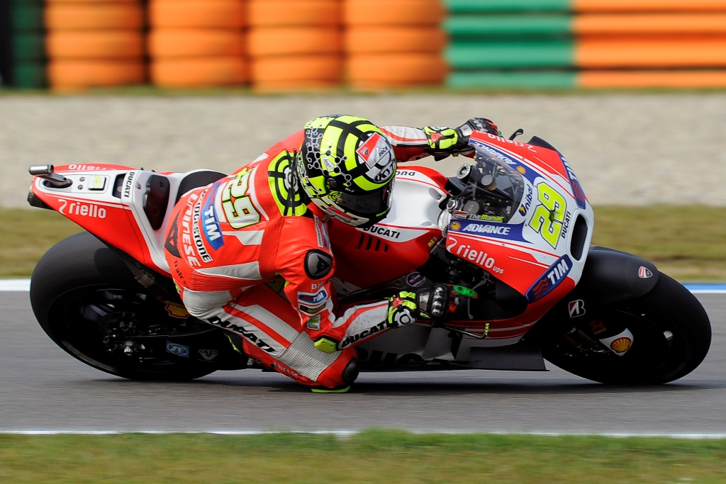 MotoGP 2015, Assen, Andrea Iannone, quarto in Olanda