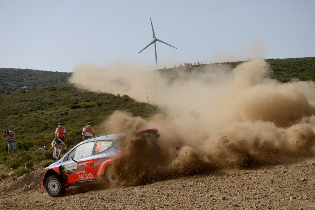 WRC 2015 Sardegna Hyundai Motorsport, Paddon