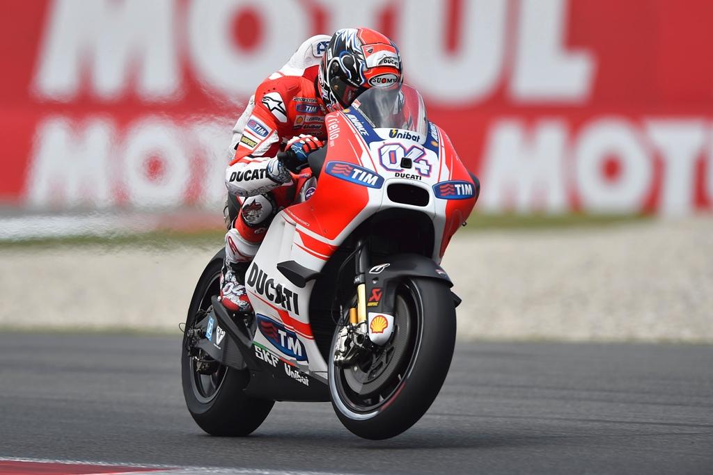 MotoGP 2015, Assen, Andrea Dovizioso rallentato da una vibrazione