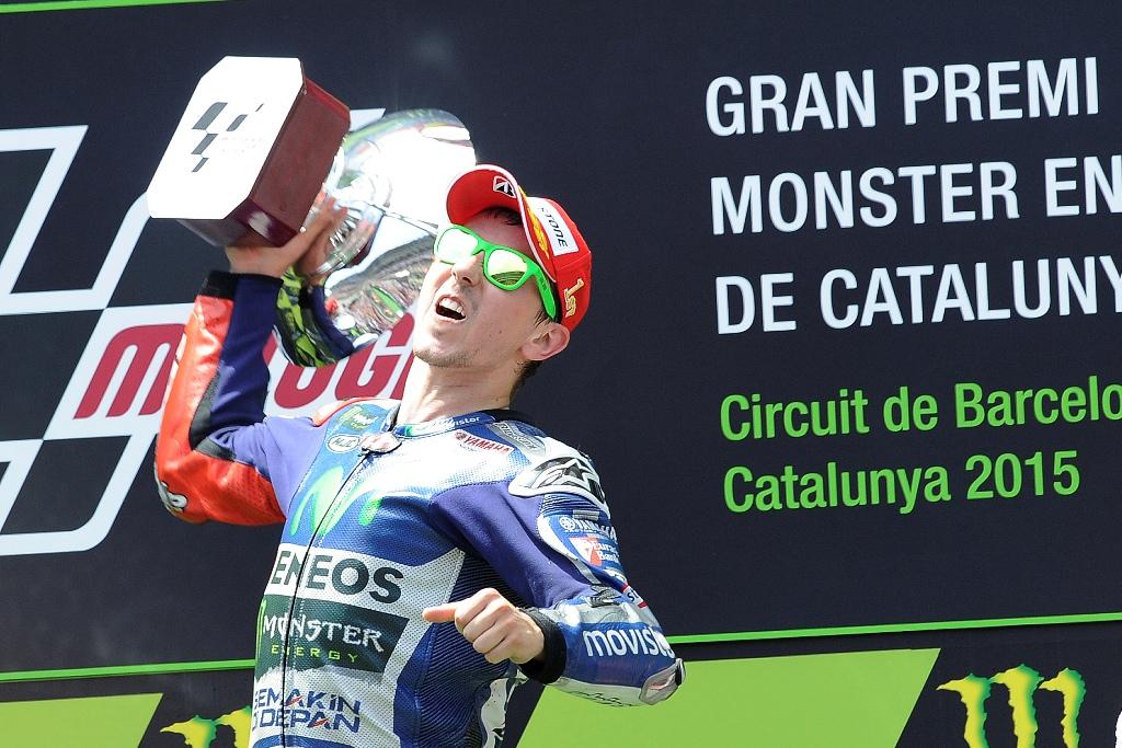 MotoGP 2015, Barcellona, Jorge Lorenzo, altra vittoria per lui
