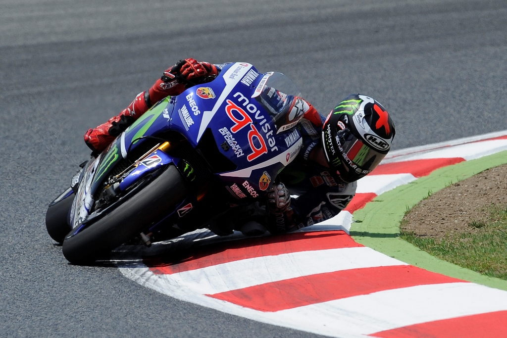 MotoGP 2015, Barcellona, Jorge Lorenzo, gara quasi solitaria per lui