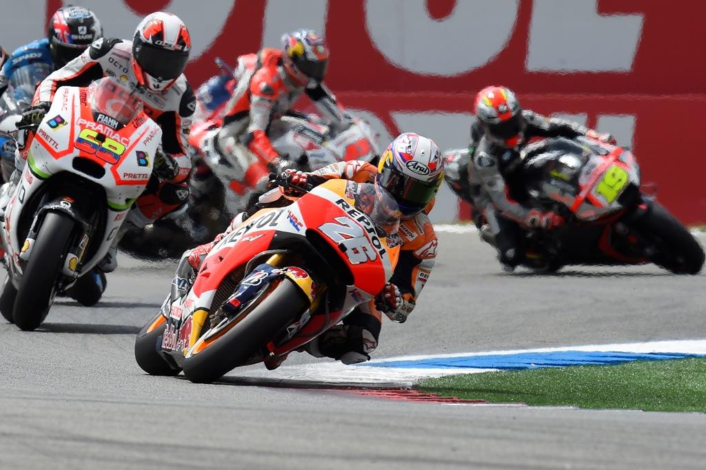 MotoGP Assen 2015, Dani Pedrosa ancora molto sfortunato