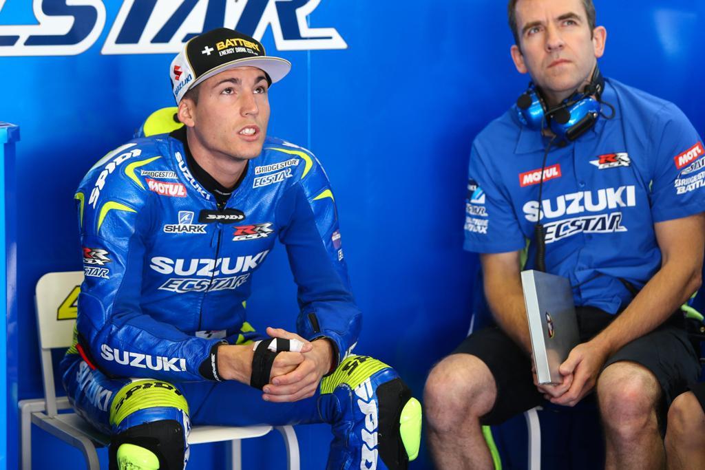 MotoGP, GP Italia, Mugello, Aleix Espargaro al box