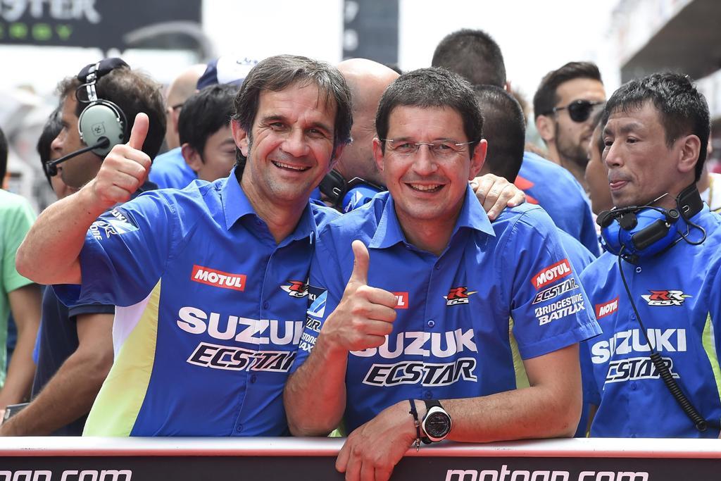 MotoGP 2015, Barcellona, Davide Brivio dopo la pole position di Espagaro
