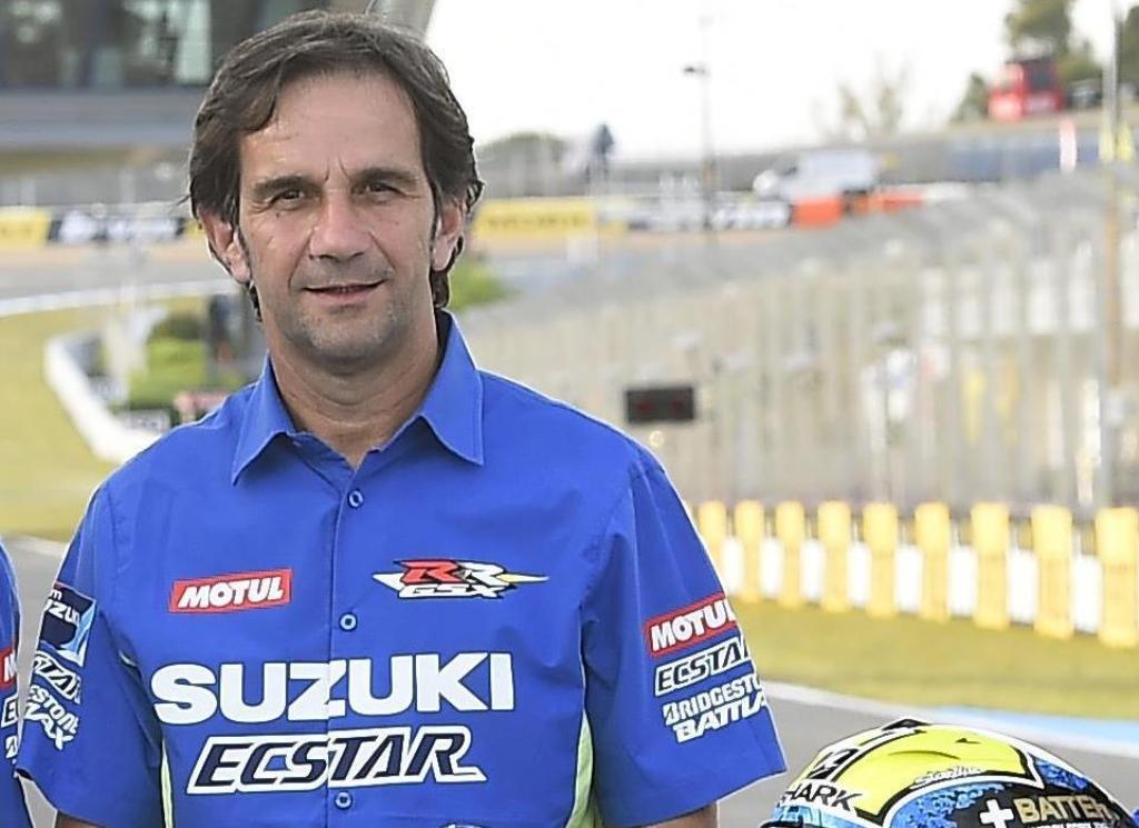 MotoGP 2015, Davide Brivio Team Manager Suzuki Ecstar